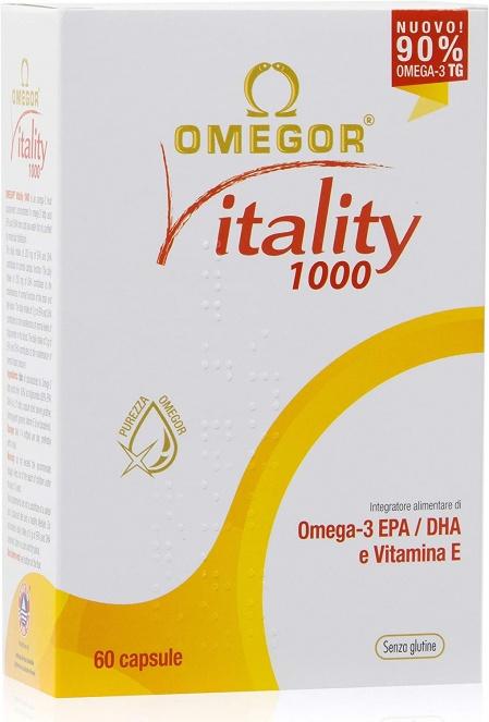 Omegor Vitality 1000 60 capsule
